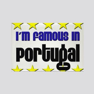 I'm Famous in Portugal Rectangle Magnet